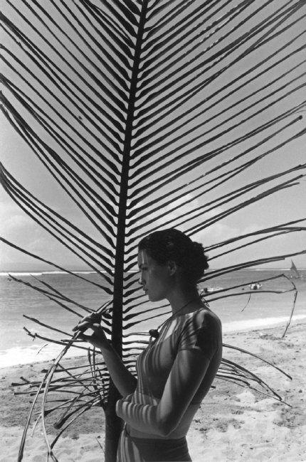 Ferdinando Scianna 1989 INDONESIA, Bali: fashion story with Celia Forner.