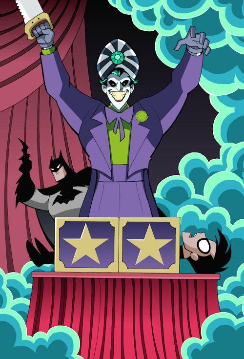 Batman & Robin Adventures: The Joker's Magic Mayhem - Luciano Vecchio