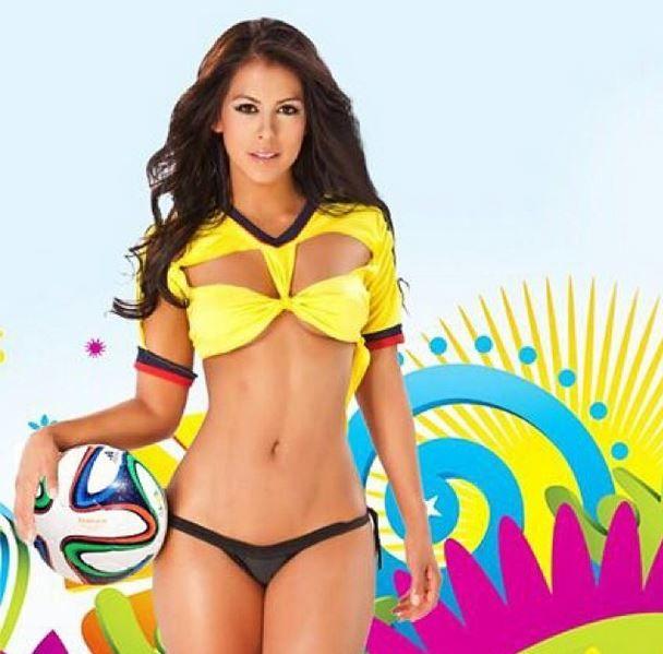 Mañana juega nuestra Tricolor !! #vamoscolombia #brasil2014 #elmundialconlahinchada lo mejor ❤️ todos a alentar ⚽️ #go