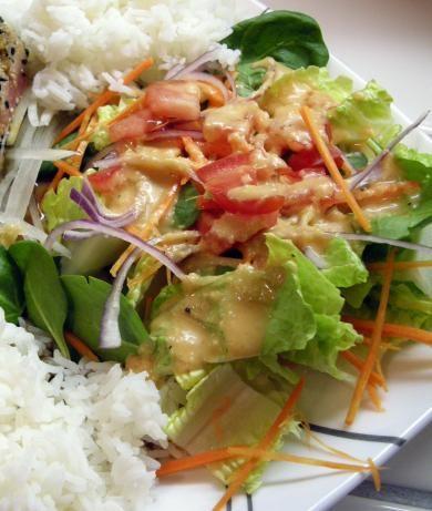 Japanese Steakhouse Ginger Salad Dressing Copycat