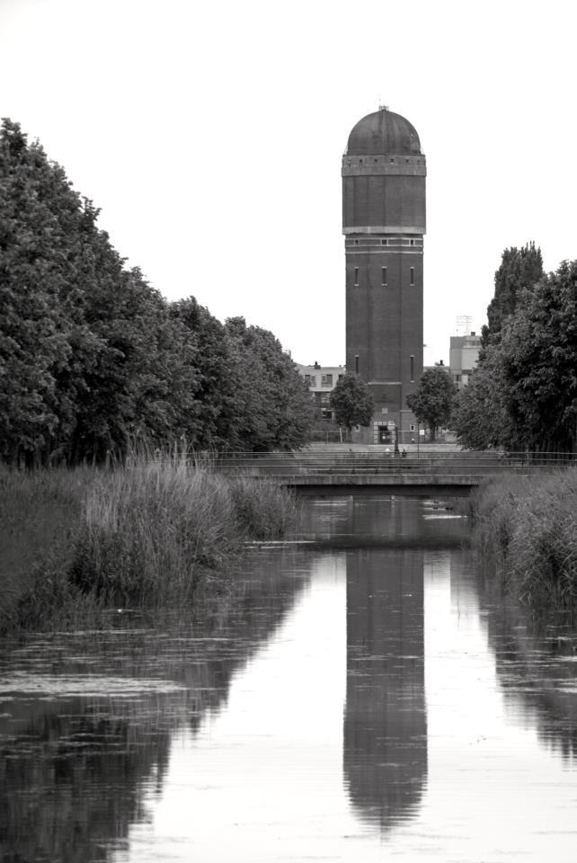 Watertoren Zoetermeer, Rokkeveen. Near to my house and great marker.