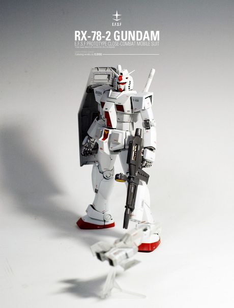 mrrobotto: MG RX-78-2 Gundam Ver. 2.0 customise