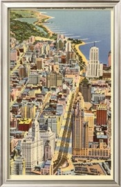 vintage Chicago posters.: Vintage Chicago, Picture-Black Posters, Chicago Posters, Illinois Posters, Movie Travel Variety, Vintage Michigan Posters, Vintage Travel, Travel Posters, 500 000 Posters