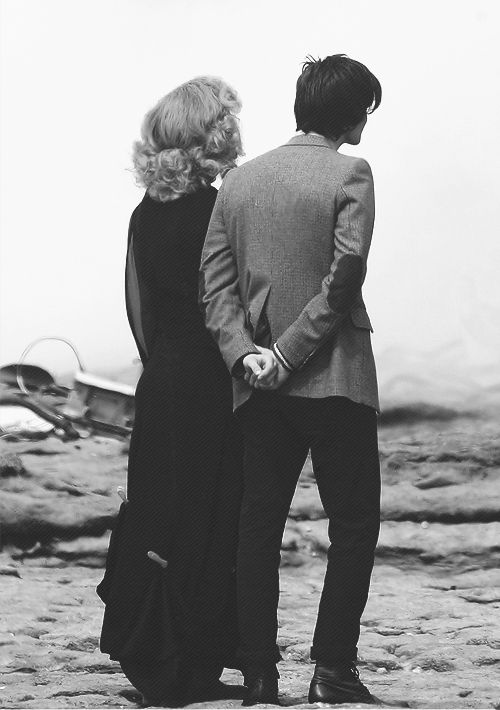 River and Eleven. Is it weird that when I first saw this picture, I pictured them in front of the altar, saying their vows?