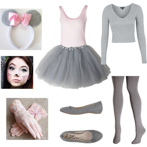 Mouse costume for Halloween by ivoryvixen on Polyvore featuring polyvore, fashion, style, Topshop, Michael Kors, Avenue, Andrea Morelli, RGLT Scarves and clothing