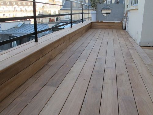 25 best ideas about terrasse en teck on pinterest table jardin teck table - Terrasse imitation teck ...