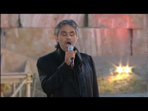 1000 images about andrea bocelli concerts in italy on pinterest to say goodbye sport. Black Bedroom Furniture Sets. Home Design Ideas