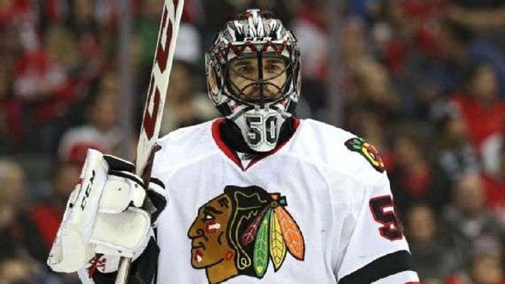 The Chicago Blackhawks placed starting goaltender Corey Crawford on injured reserve Friday with an undisclosed injury....