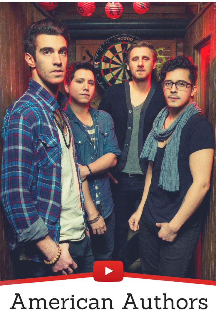 Mejores 18 imgenes de discover new music en pinterest bandas de american authors is an american alternative rock band based in new york city and who are malvernweather Image collections
