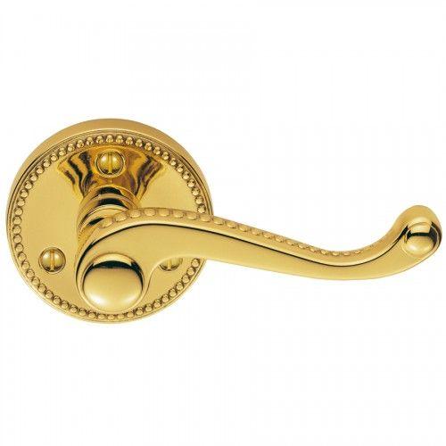 carlisle brass delamain georgian lever handles on rose