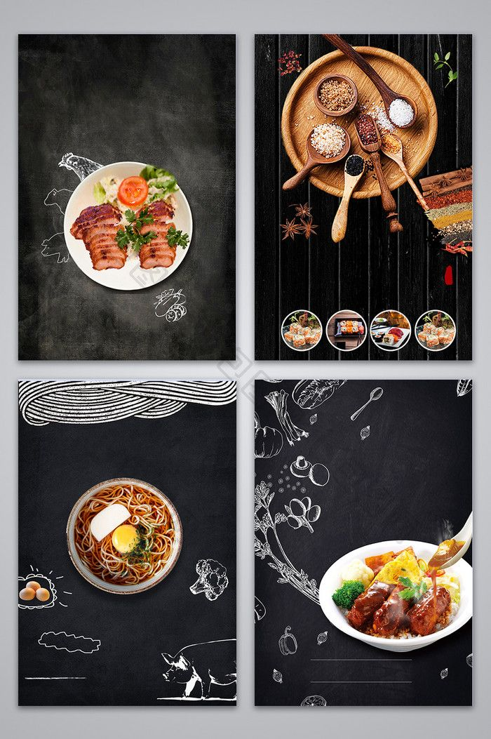 Over 1 Million Creative Templates by  Food poster design, Food poster, Food menu design