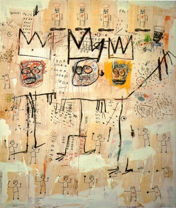 Jean-Michel Basquiat - Un poco de su obra.