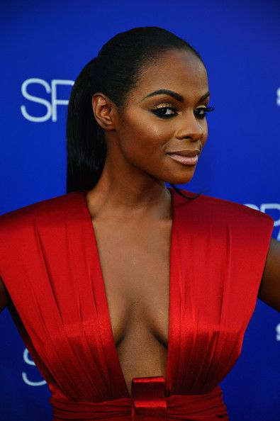 Tika Sumpter | ... in this photo tika sumpter actress tika sumpter arrives at tri star