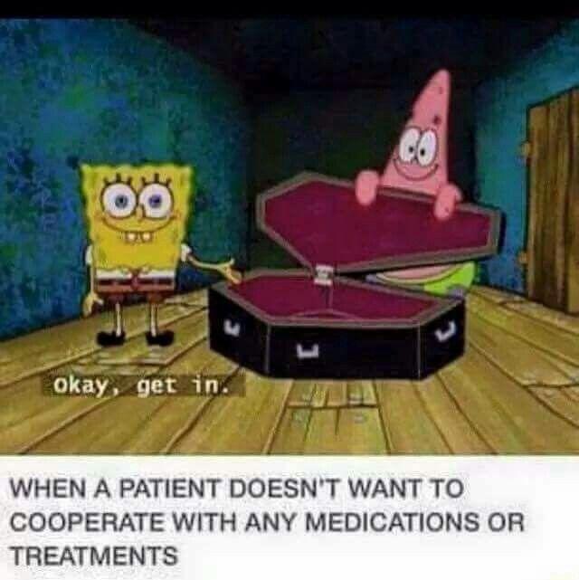 Spongebob gets me