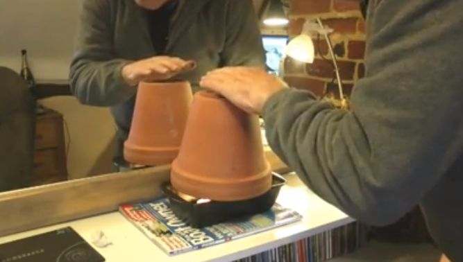 Clay Tea Pots with Lights and Heat