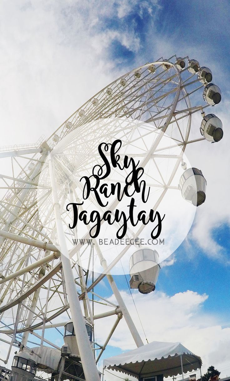Carnival date in Sky Ranch Tagaytay