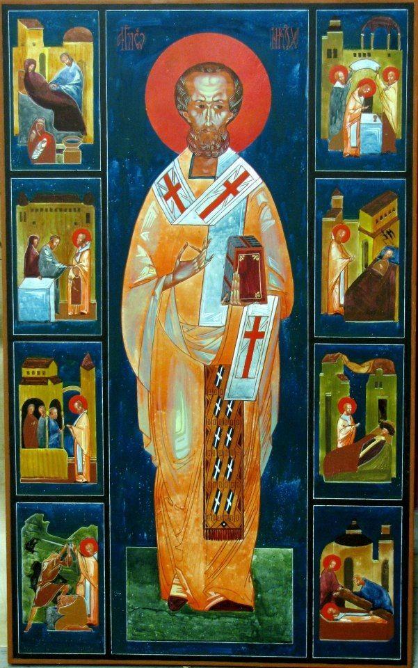 St Nicholas  Author, Ivanka Demchuk  Ukraine