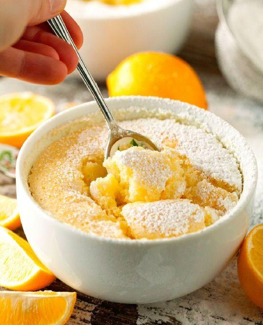 Low FODMAP Recipe and Gluten & lactose free Recipe - Citrus pudding