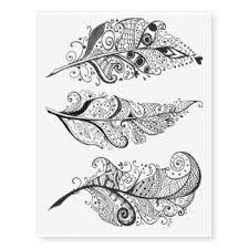 Resultado de imagen de dibujos de plumas para tatuar