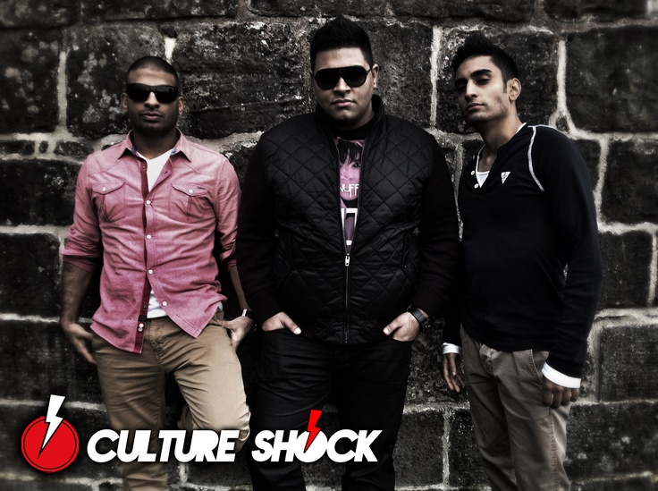 The Culture Shock trio - Sunny Brown, Baba Kahn and Lomaticc