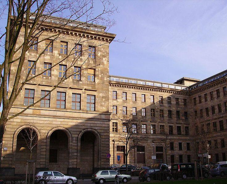Town Hall, Technisches Rathaus in Mannheim, Germany