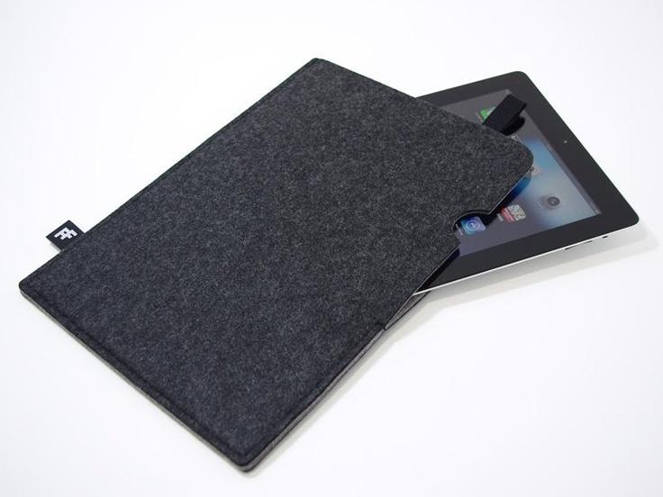 Felt-Felt Folder A4 / Charcoal Gray $63.50