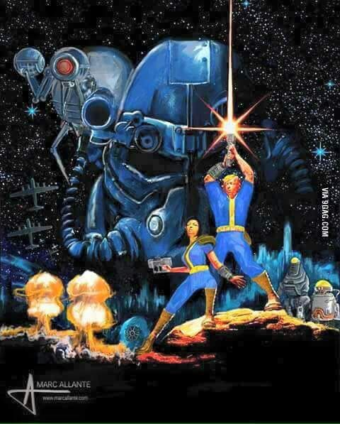 Fallout Art: Star Wars Like, Re-Pin. Thank's!!! Repined by http://www.casualgameportal.com/category/xbox/