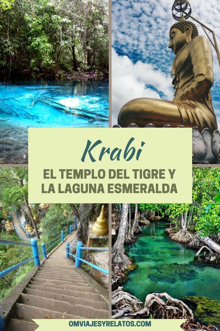 Una ruta por el interior secreto de Krabi en Tailandia visitando el Templo del Tigre, las aguas termales y la Laguna Esmeralda... #Tailandia #Krabi