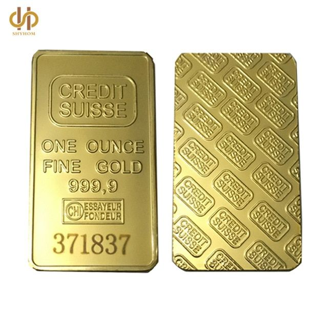 24k 1 Oz Credit Suisse Gold Bullion Gold Bullion Bars Gold Bullion Buy Gold And Silver