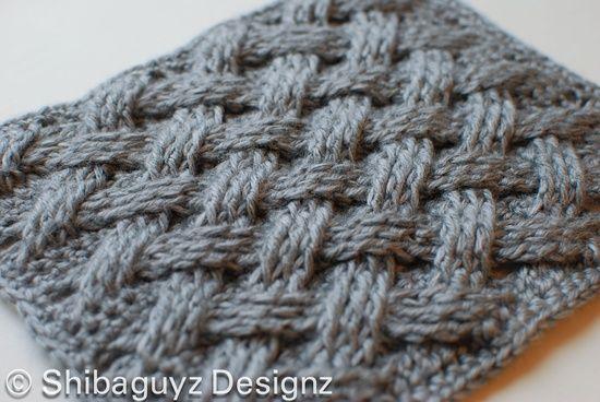 Basket weave crochet.. Crochet Pinterest