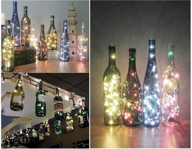 6 mejores y geniales ideas para reciclar botellas de for Reciclar botes de cristal decoracion