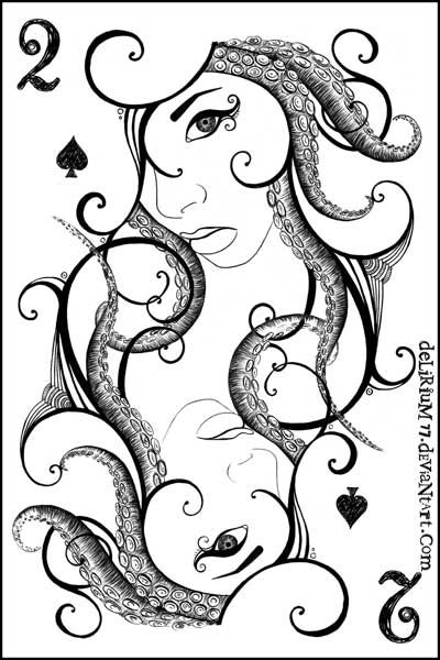 two of spades by vasodelirium.deviantart.com on @deviantART