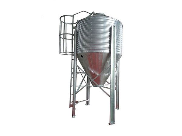Poultry Feed Silo and Hopper with Full or Semi for Automatic