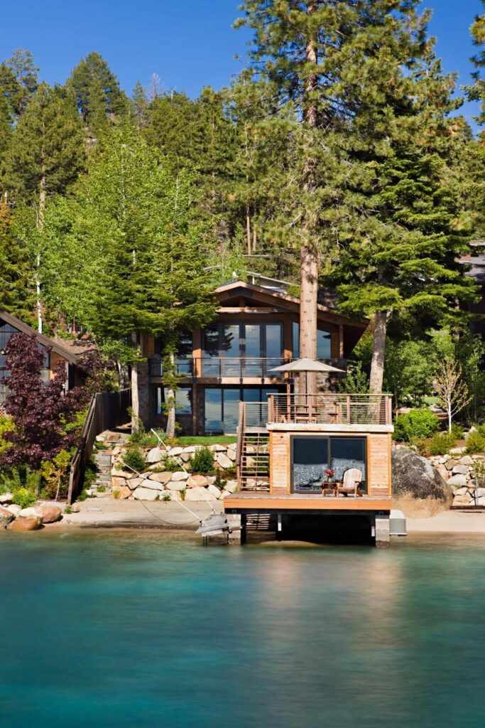 50 Cozy Cabins As Your New Homes Page 68 Of 99 Lake Houses Exterior Lake House Dream House Exterior