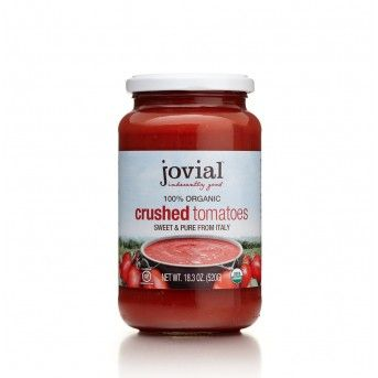 Organic Crushed Tomatoes 18.3oz Jar - Tomatoes