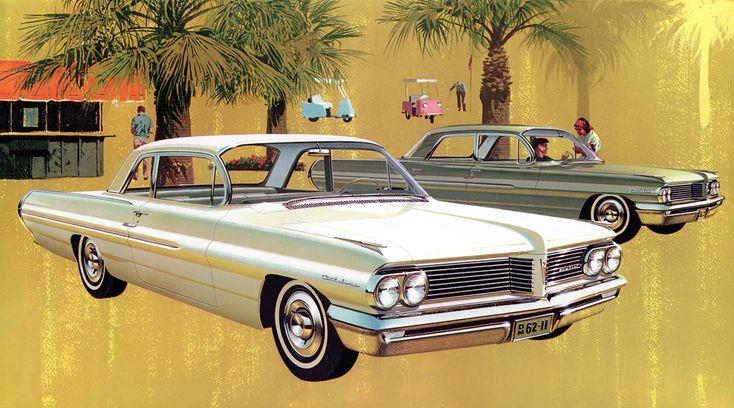 Plan59 :: Classic Car Art :: 1962 Pontiac Catalina