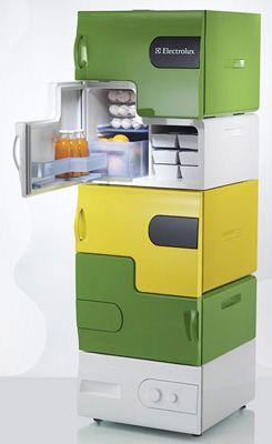Small, separate refrigerators for roommates @Rachel Smetana , @DaVee Harned @Emily Crabtree