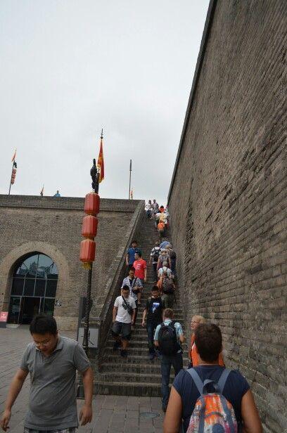 Muur in Xi-an