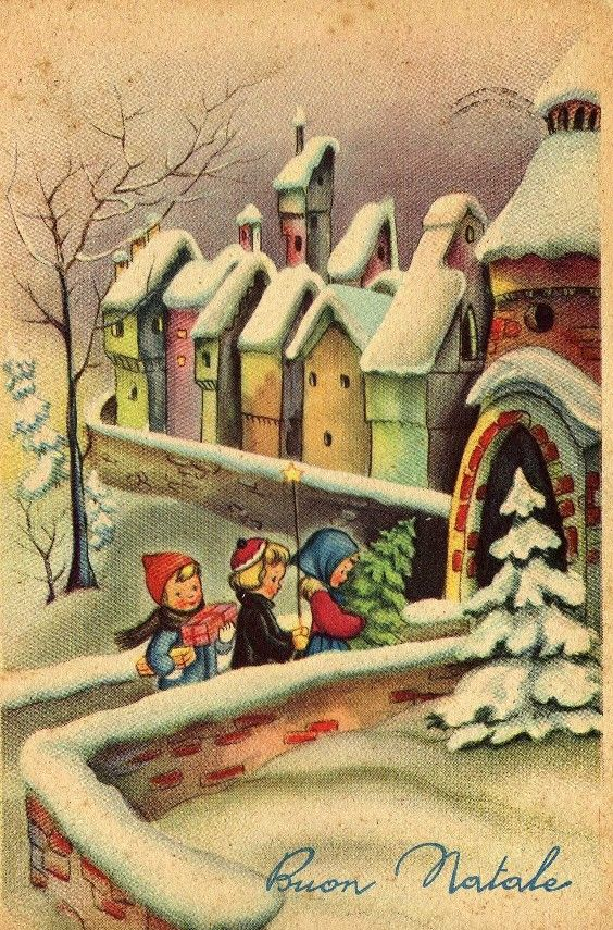 Miss Jane: Christmas Cards 1954