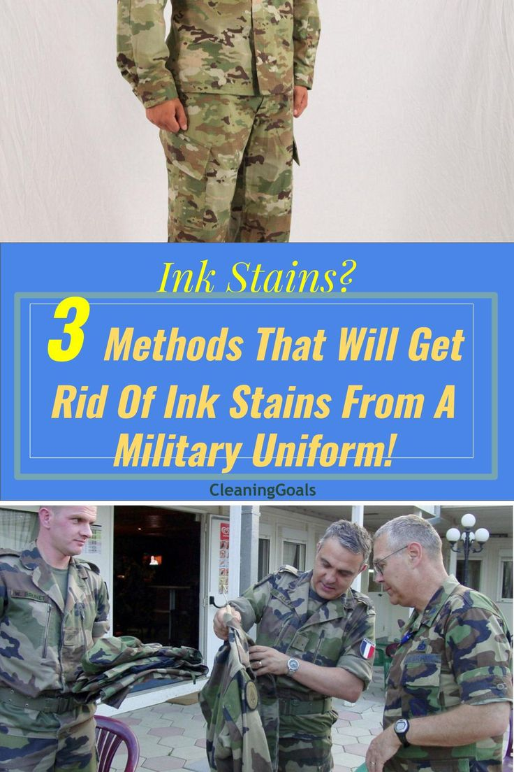 How To Get Ink Stains Out Of Military Uniforms Ink Stain Ink Stain Removal Ink