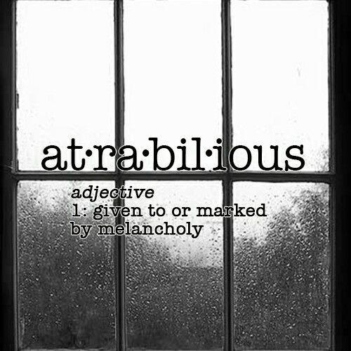 Atrabilious