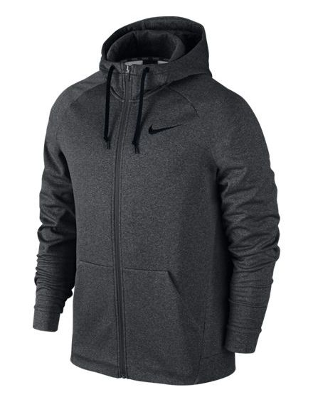 Men's Nike Therma Training Hoodie is made with Nike Therma fabric so you can take on the elements: * Nike Therma fabric helps manage your body's heat to keep you warm. * Full-Zip design for easy on an