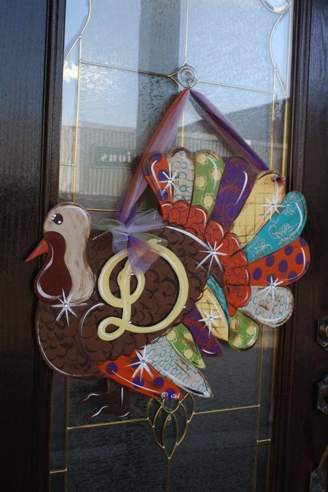Turkey Door Hanger Thanksgiving Pinterest
