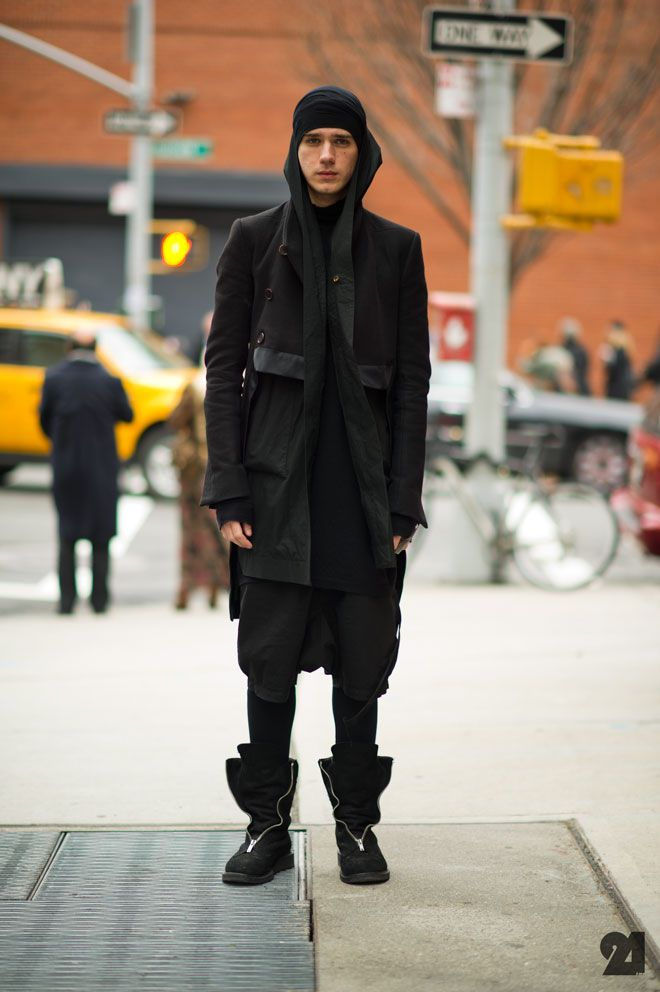 Visions of the Future: Rick Owens.. stealing this look