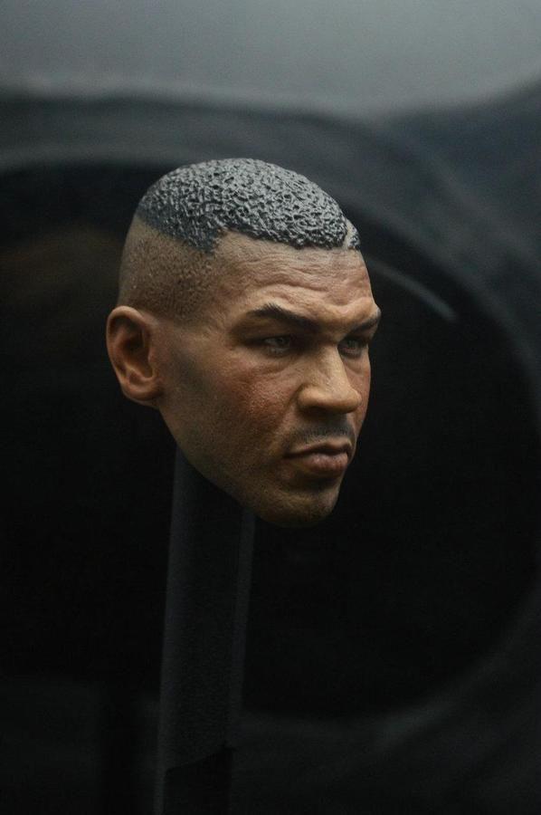 3ce59fff4 1/6 Mike Tyson Head Sculpt For Hot Toys COOMODEL PHICEN Male Figure  #Sculpt#Hot#Head