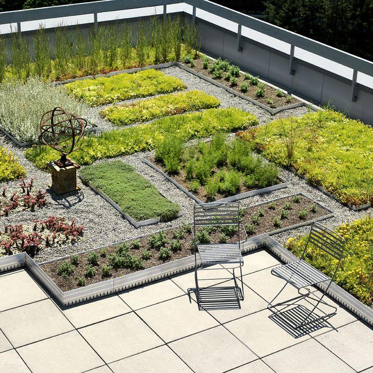 Roof Top Garden, Portable Green Roof Installed In Toronto Designed By Scott  Torrance LA