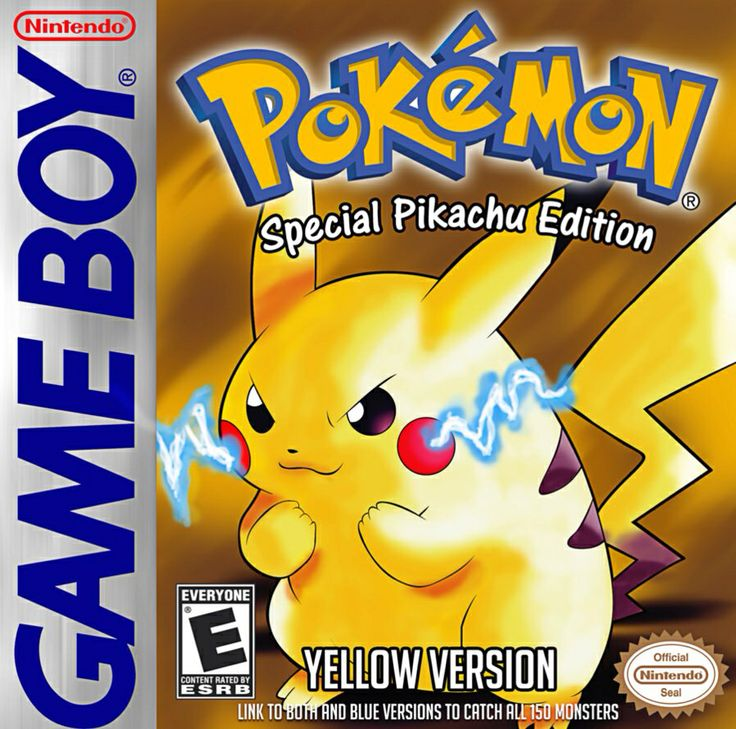 Pokemon (Yellow Version) - Gameboy