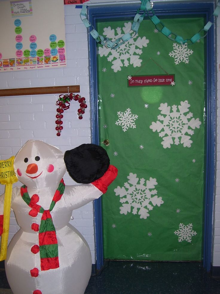Classroom Door Ideas November : Best images about prek winter on pinterest snowflakes