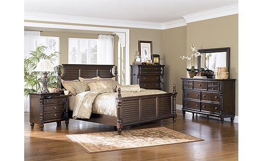 Zenfield bedroom bench furniture put together and for Furniture you put together