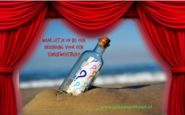 Waar let je op bij een inzending voor een schrijfwedstrijd?